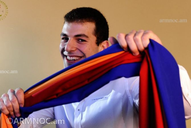 Swimmer Vahan Mkhitaryan to be Armenia's flag bearer at RIO 2016