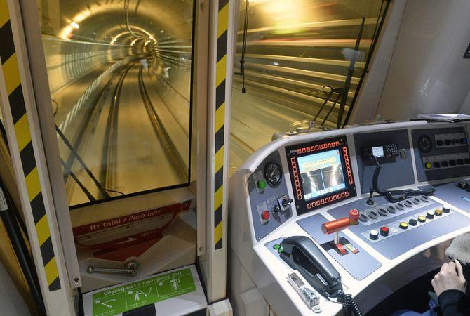 В метро Будапешта столкнулись два поезда