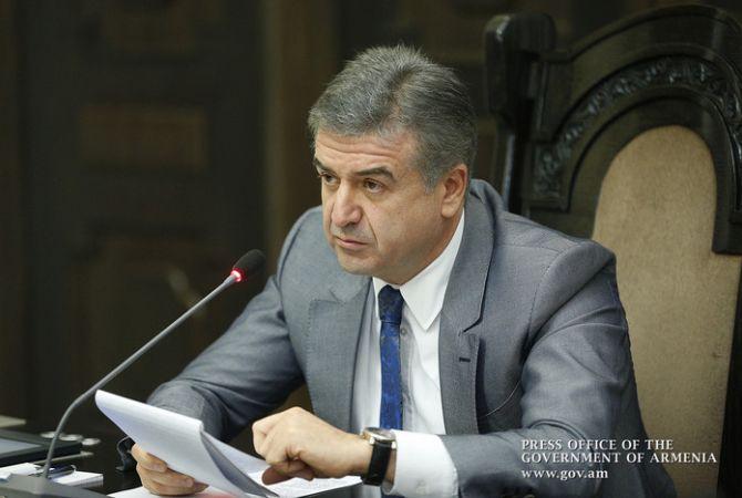 رئيس الوزراء كارن كارابيتيان متأكد أن أعضاء فريق عمله لن يستغلوا مناصبهم لجني الأرباح الشخصية
