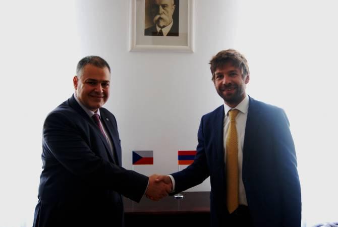 Հայաստանի և Չեխիայի արդարադատության նախարարները քննարկել են երկուստեք հետաքրքրություն ներկայացնող հարցեր
