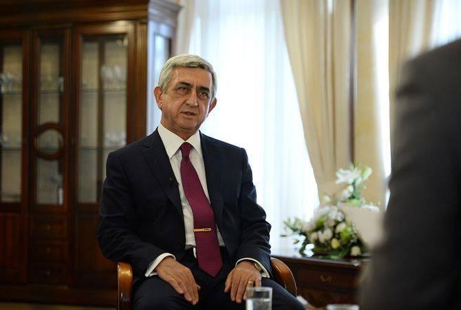 Права и свободы человека являются приоритетом, но они должны быть в рамках логики: Серж Саркисян