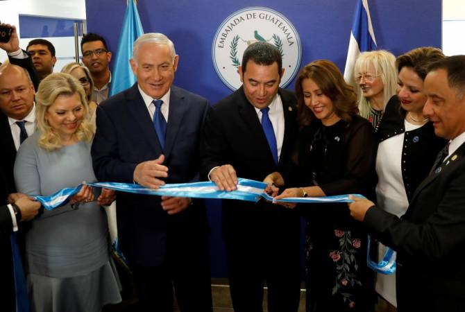 Guatemala opens embassy in Jerusalem two days after US
