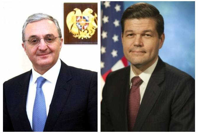 Armenian FM holds telephone conversation with U.S. Assistant Secretary of State Wess Mitchell