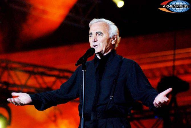 'My whole life is a victory towards myself': Legendary Charles Aznavour celebrates 94th birthday