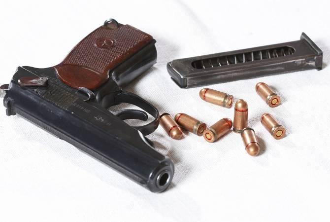 Житель села Шикаох добровольно сдал пистолет и боеприпасы