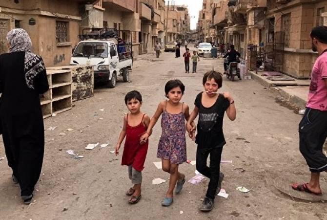 В Алеппо более 20 тысяч человек вернулись в свои дома