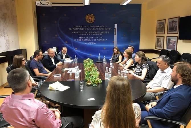 Специалисты МЗ Армении поделились опытом системы электронного здравоохранения с белорусскими коллегами