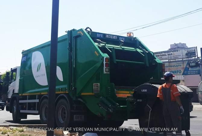 Компания «Санитек» просит прощения за недолжную организацию вывоза мусора