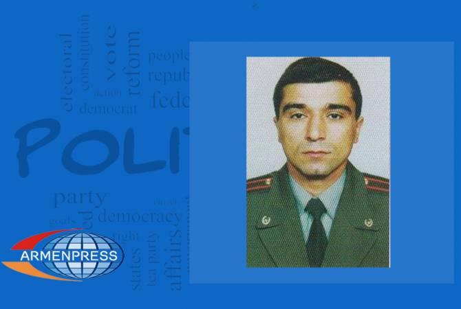 Микаэл Арзуманян освобожден с должности заместителя главного военного инспектора