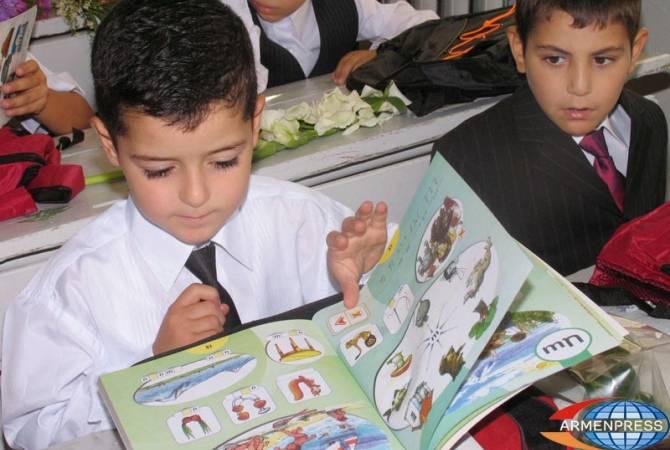 Целью МОН Армении является то, чтобы школы работали в одну смену и принимали учеников только со своих территорий