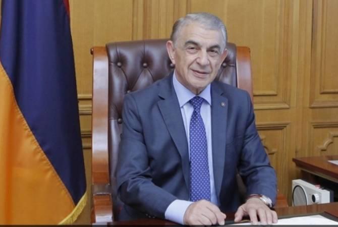 Ара Баблоян поздравил с 100-й годовщиной созыва первого заседания парламента Первой Республики Армения