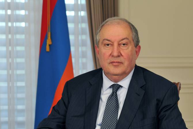 President Sarkissian extends condolences to Arsene Tchakarian's family on latter's death