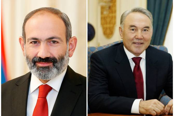 PM Pashinyan holds phone conversation with Kazakh President