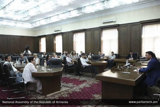 Fair and pro-Armenian settlement of NK conflict is our top priority – parliament Vice Speaker