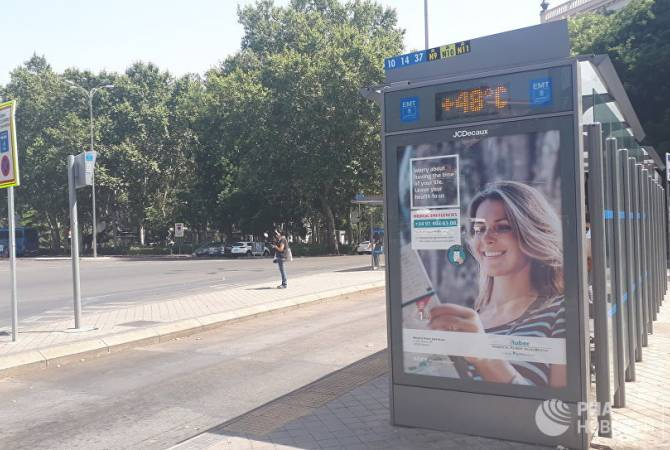 В Испании 30 человек умерли от жары с июля