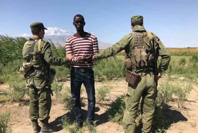 Российские пограничники задержали нарушителя армяно-турецкой границы – гражданина Гвинеи