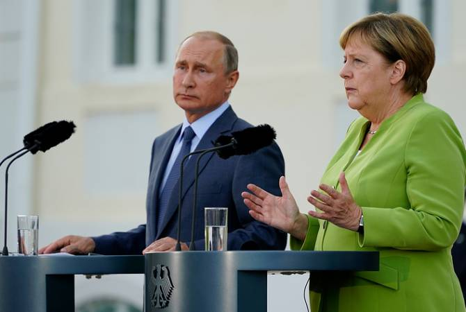 На встрече  Путин-Меркель подробно обсуждалась ситуация в Сирии