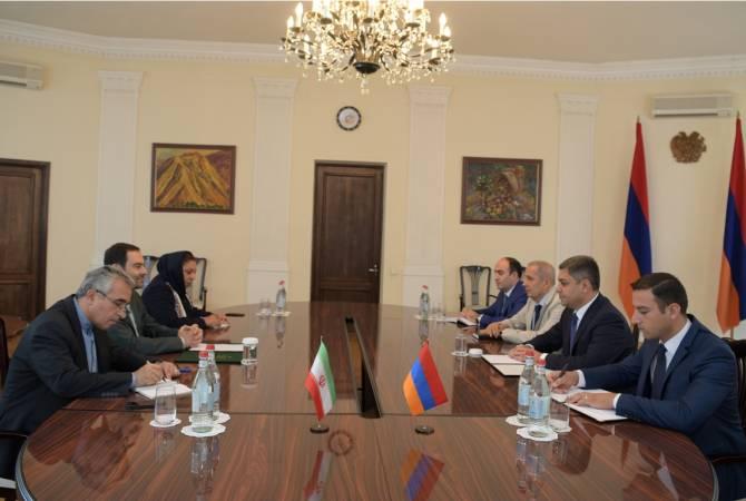 Армения и Иран останутся дружественными странами — посол ИРИ нанес ознакомительный визит в СНБ