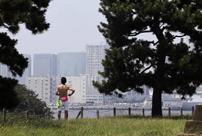 В Японии летом из-за жары в больницы попали более 80 тысяч человек