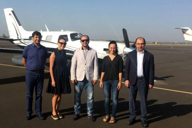 Развитие малой авиации находится в центре внимания властей Армении