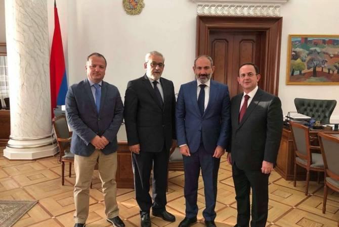 Никол Пашинян принял делегацию ЦК АРФД Ливана