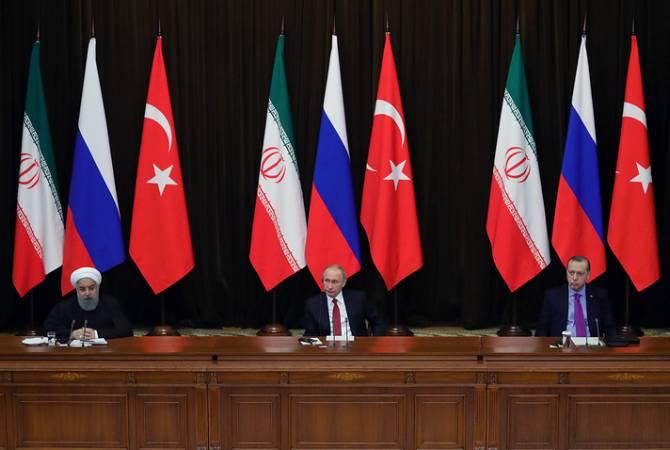 СМИ: саммит Ирана, РФ и Турции пройдет 7 сентября в Тебризе