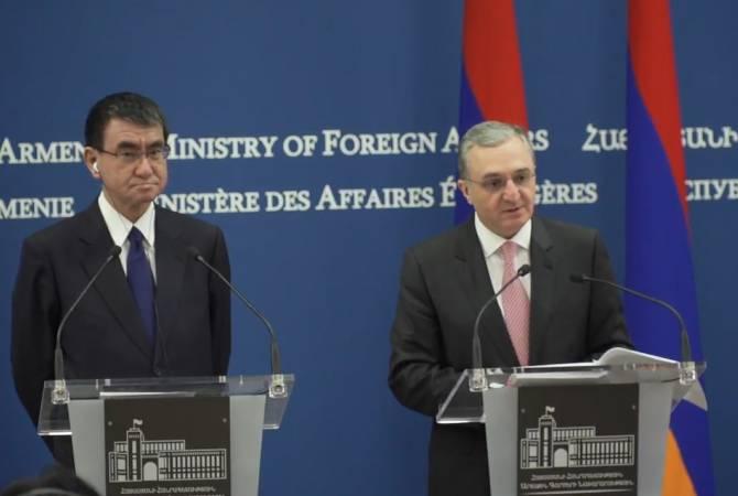 Мы высоко оцениваем постоянное присутствие Японии в развитии Армении: Зограб Мнацаканян