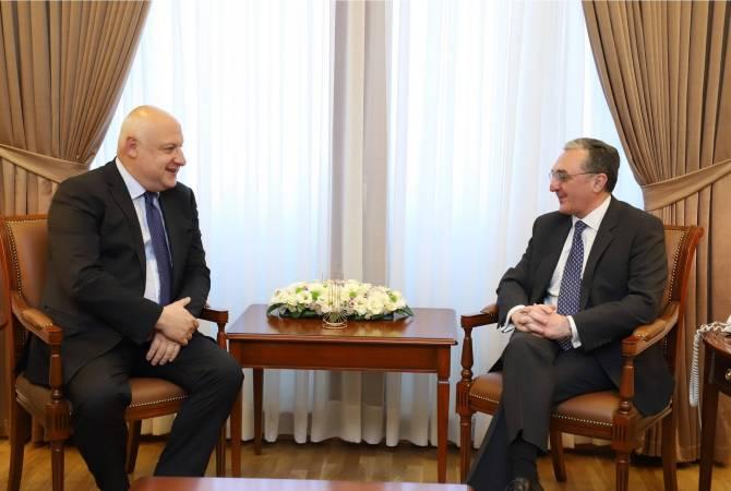 Глава МИД Армении принял председателя Парламентской ассамблеи ОБСЕ