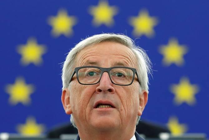 ЕС нужно стать независимым игроком в международных отношениях, заявил Юнкер