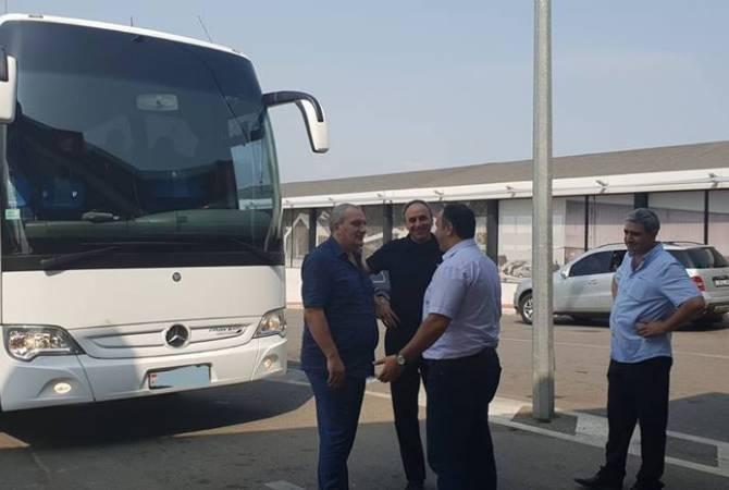 Послы, аккредитованные в Грузии, прибыли с ознакомительным визитом в Армению