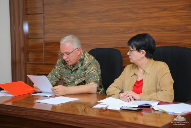 Состоялись заседания постоянных комиссий НС Арцаха