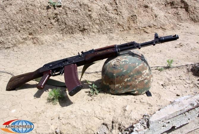 Погибший от пули противника Арцах Овсепян посмертно награжден медалью «За боевую службу»