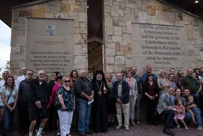 В крупнейшем городе штата Айдахо Бойсе открыт памятник жертвам Геноцида армян