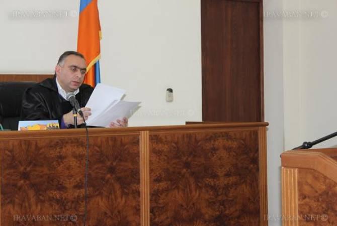 В рамках уголовного дела о прослушке телефонных разговоров глав СНБ и ОСС Армении допрошен судья Ваче Маргарян
