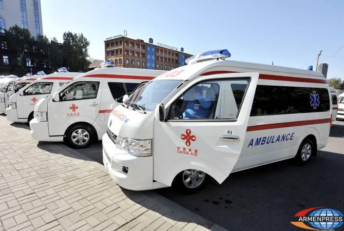 China donates 200 ambulance vehicles to Armenia   ARMENPRESS