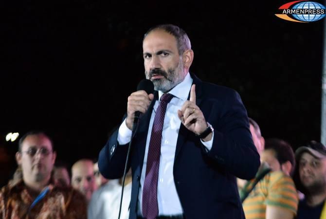Олигархия в Армении уничтожена, в стране установлена власть народа: Пашинян