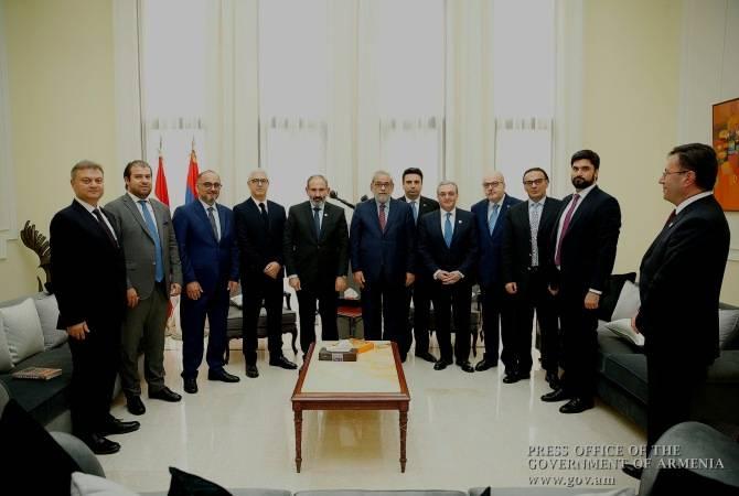 Представители традиционных армянских политических партий подчеркнули важность визита Никола Пашиняна в Ливан