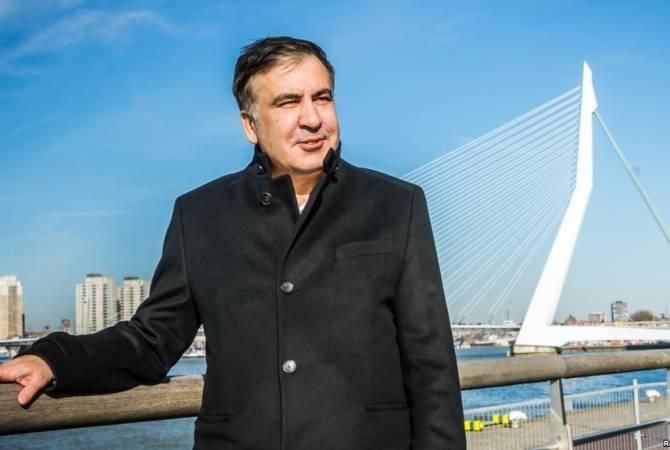 Саакашвили рассказал о жизни в Амстердаме