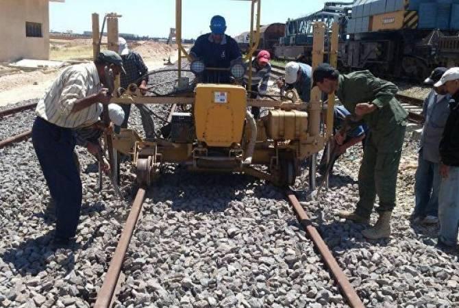В Сирии планируют восстановить движение поездов между Дамаском и Алеппо