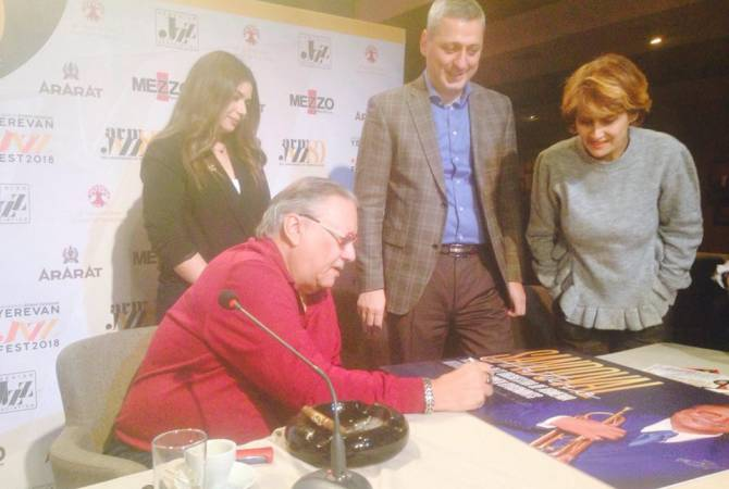 «Ереван джаз-фест 2018» стартует концертом Артуро Сандоваля