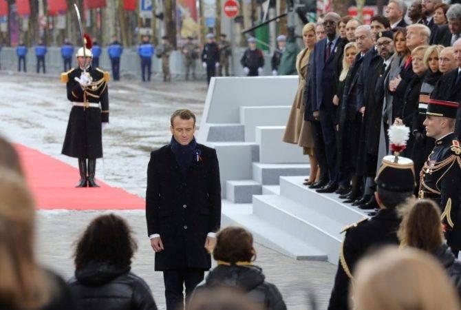 Макрон призвал не забывать последствия Первой мировой войны