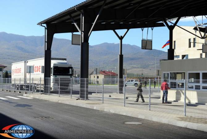 Ввоз товаров из Грузии в Армению будет ускорен: посольство Армении в Грузии