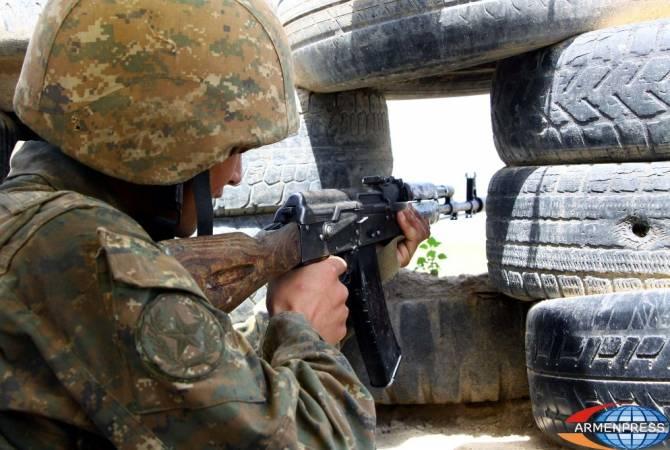 За прошедшую неделю Азербайджан нарушил режим прекращения огня более 80 раз