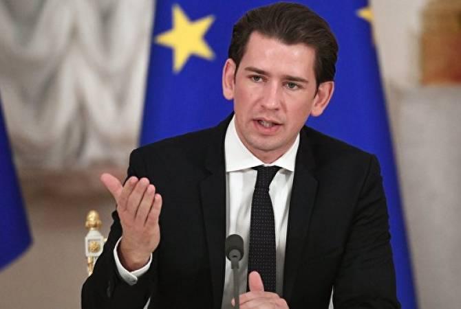 Курц заявил о необходимости присоединения к ЕС стран Западных Балкан