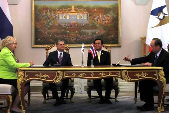 Председатель Коллегии ЕЭК Тигран Саркисян и премьер-министр Таиланда обсудили перспективы сотрудничества
