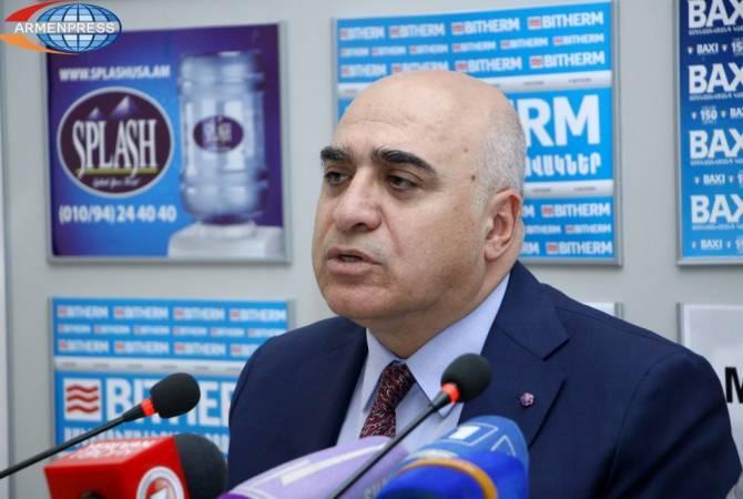 Арсен Казарян считает сверхзадачей рост внешних и внутренних инвестиций в экономику Армении