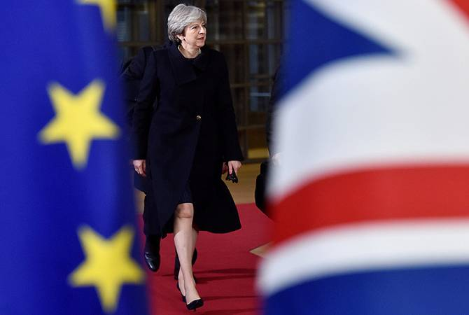 Bloomberg: Мэй отменила голосование в парламенте по соглашению об условиях Brexit