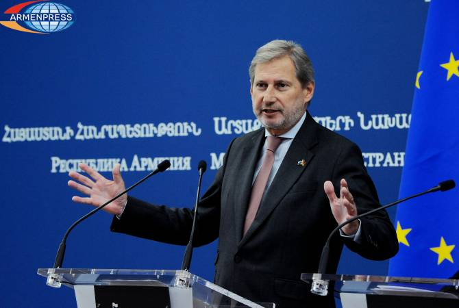 Йоханнес Хан поздравил Никола Пашиняна в связи с победой на парламентских выборах Армении