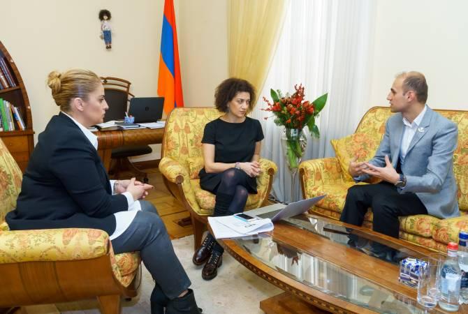 """Анна Акопян и основатель компании """"Anna Kara loans"""" Анна Кара обсудили вопросы сотрудничества"""