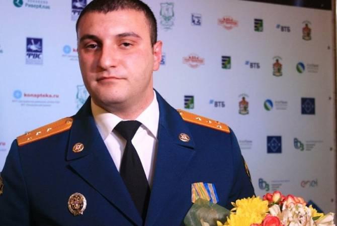 Спасатель Эрик Минасян признан человеком года в Твери